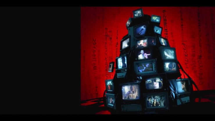 A stack of televisions in the trailer for Cowboy Bebop (2021)