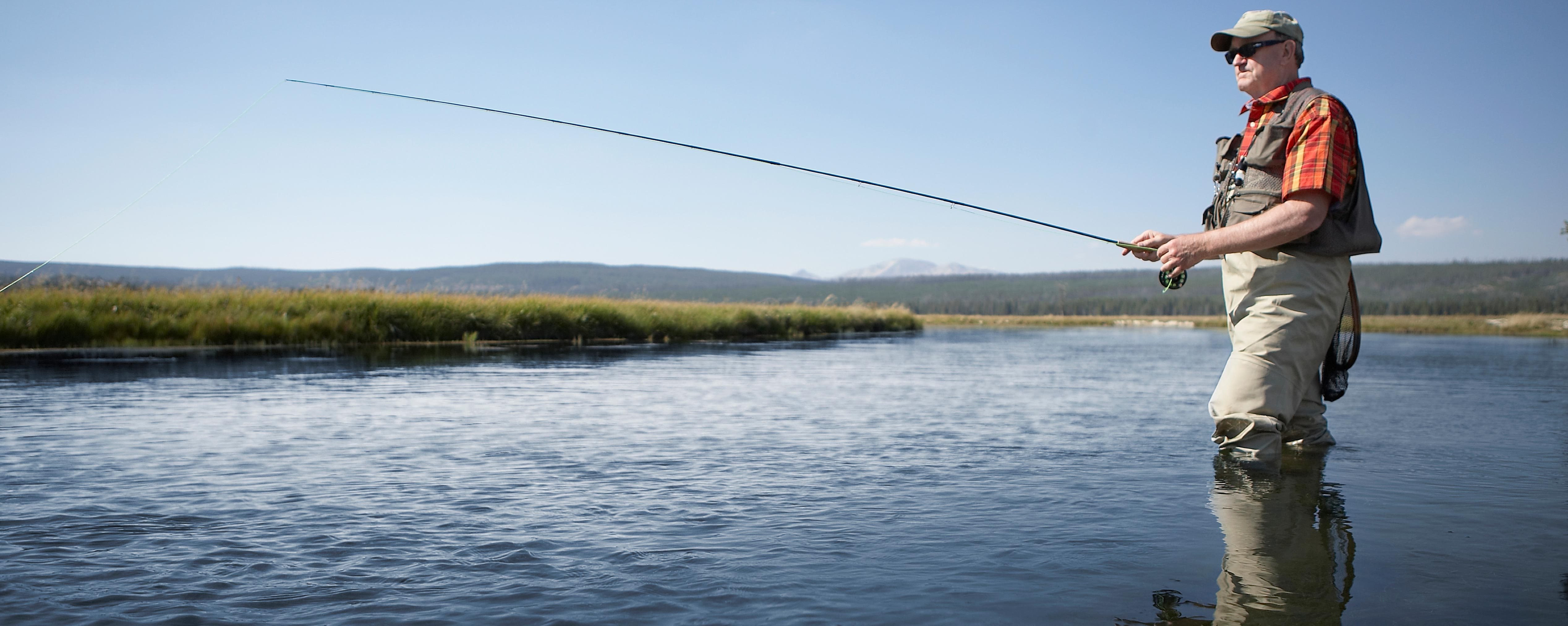 Get A Freshwater Fishing License