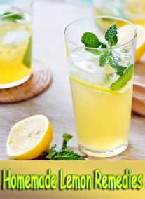 Home Lemon Remedies for Smooth Skin