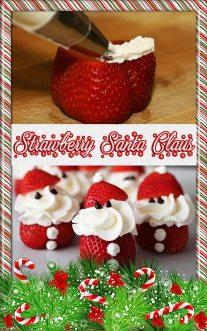 Strawberry Santa Claus Recipe