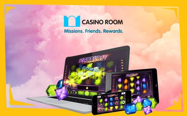 CasinoRoom erbjuder bra mobilt casino med spel som har högsta vinstchanserna