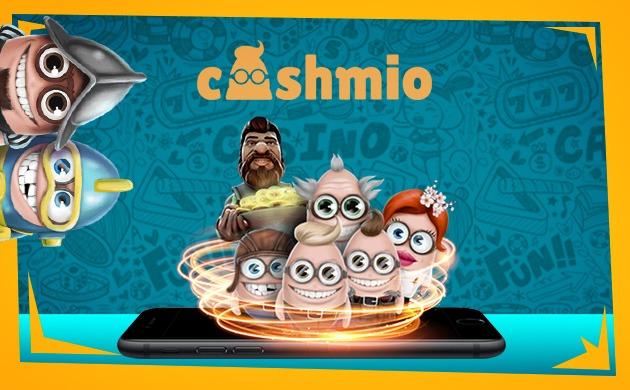 Cashmio casino banner