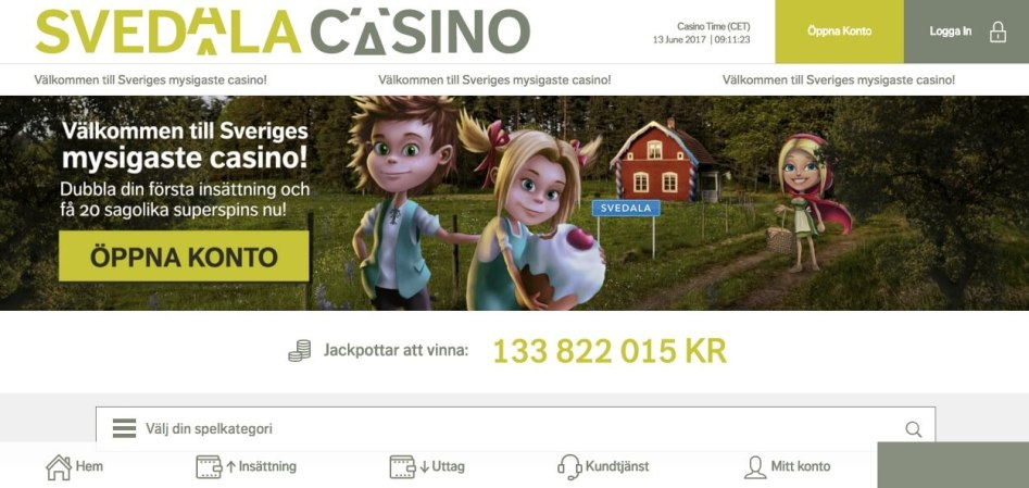 Testa på nya Svedala Casino