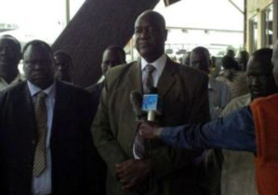Kuol Manyang, Defense Minister, in a past event FILE Photo