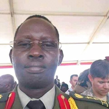 Colonel Gai Chatim Pouch, a government attache who defects to SPLA/M-IO...