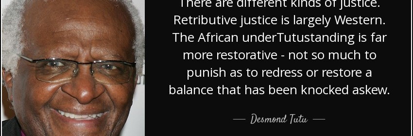 retributive theory of justice