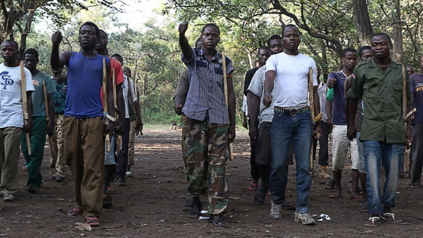 SPLA-IO officials training youth in undisclosed locations in Equatoria to wage rebellion against the Juba regime(Photo: file)