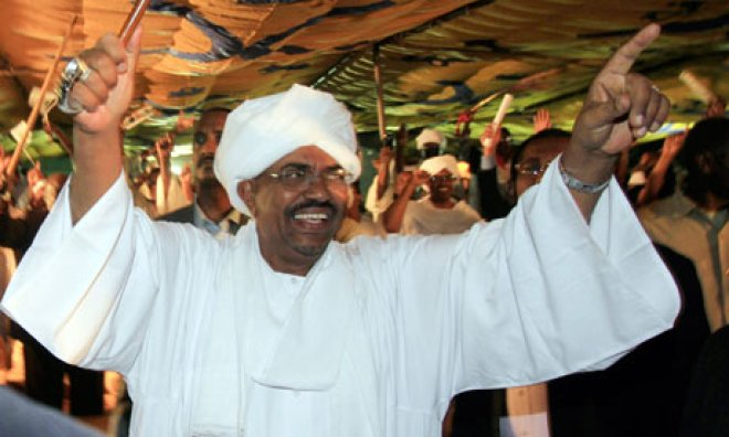 Sudanese President, Omar Hassan Al-Bashir celebrates. U.S has finally lift its 20-years-long trade embargoes on Sudan(Photo: file)
