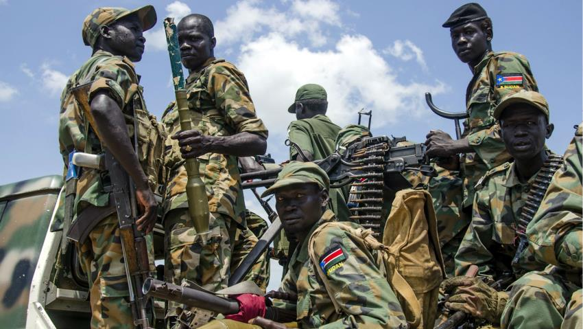 A contingent of SPLA-IG in a contested area in South Sudan's oil rich Unity State(Photo: file)