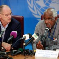 UN envoy criticizes the government for dragging its feet in implementing the peace agreement