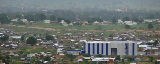 South Sudan's National Security Headquarters also known as Blue House (File/Supplied/Nyamilepedia)