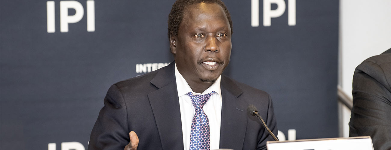 Dr. Jok Madut-Jok is a Professor of Anthropology at Maxwell School of Citizenship and Public Affairs, Syracuse University(Photo credit: supplied/Nyamilepedia)