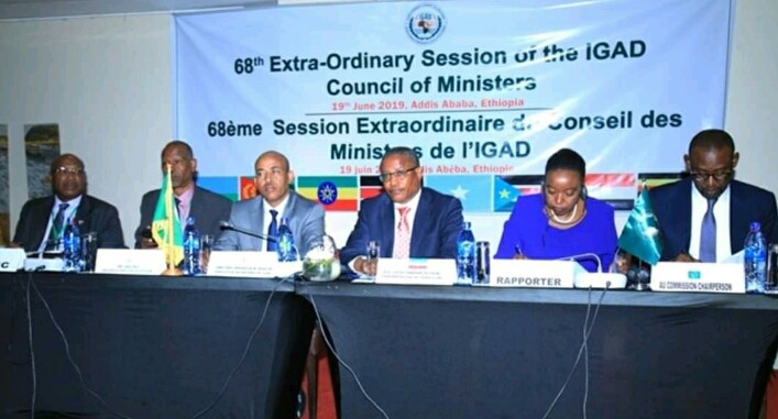 Meeting of IGAD Council of ministers (File/Supplied/Nyamileepedia)