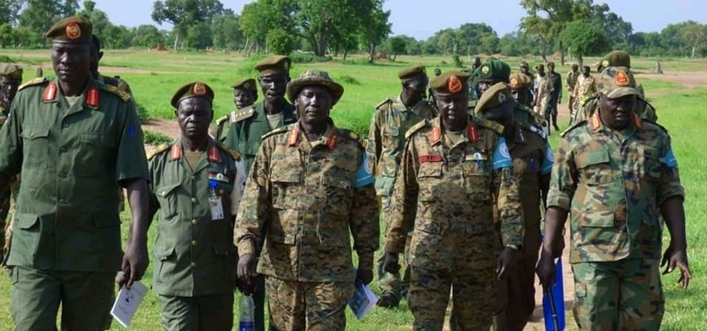 Joint security committee visits military bases in Northern Bahr El-Ghazal (File/Supplied/Nyamilepedia)
