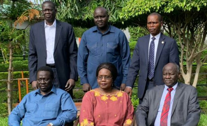 Members of South Sudan Opposition Alliance (File/Supplied/Nyamilepedia)