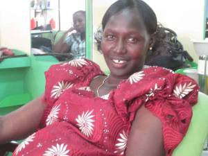 Civil Rights Activist, Sarah Nyanaath, calls for replacement of Riek Machar(Photo source: Gatley Tungwar)