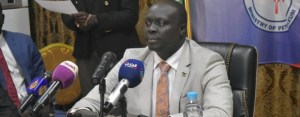 South Sudan oil minister Awow Daniel (File/Supplied/Nyamilepedia)