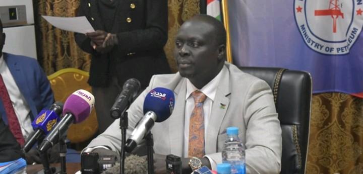 South Sudan oil minister Awow Daniel (File/Supplied/Nyamilepedia)