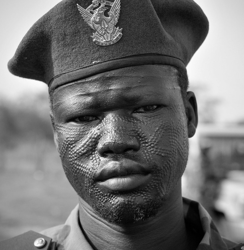 A nuer elite Military, Bol Nyawan, who fought against the Khartoum government in Bentiu; he was killed in 1985 by the Sudanese forces under the leadership of Omar Hassan el Bashir(photo credit: Wikipedia/Nyamilepedia)