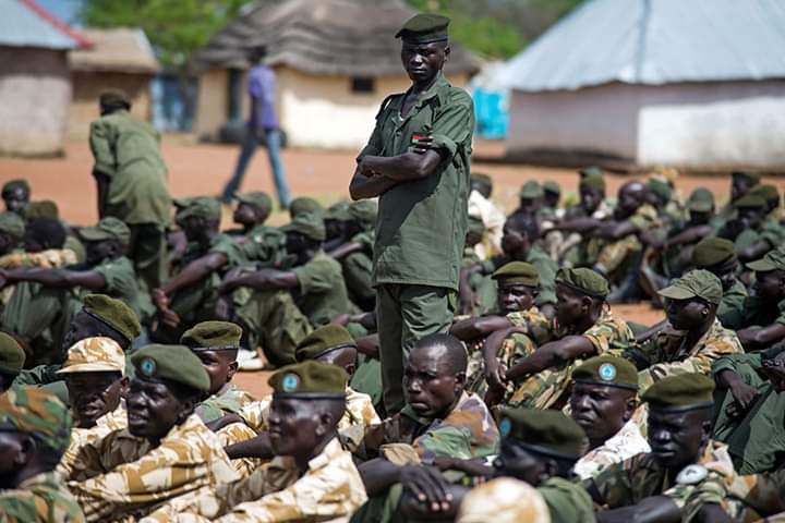 Photo: Necessary Unified Forces in South Sudan | Credit | Via Radio Miraya