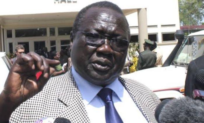 South Sudan's Interior Minister Hon. Paul Mayom Akec(Photo| Credit: supplied)