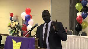 President Kiir's Envoy to Pibor, Brig. Gen. Akot Lual, who is believed to be mobilizing Murle tribe (Photo credit: supplied)