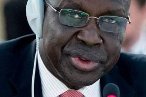 Justice John Luk Joak, South Sudan's Minister of Justice and Constitutional(Photo credit: supplied)