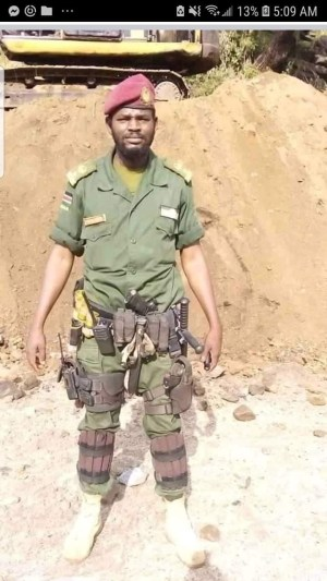 Lt. Col. Lual Marine, a relative to president Kiir, was the suspect of the shooting that killed seven people and wounded eight other(Photo credit: supplied)