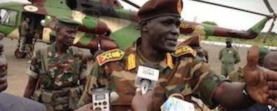 SPLM-IO nominee for Upper Nile state governoship General Johnson Olony (Photo credit: Supplied)