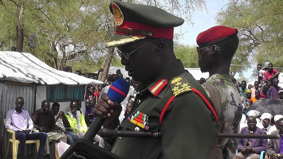 SPLA-IO deputy spokesman Brigadier General William Gatjiath Deng (Photo credit: supplied)