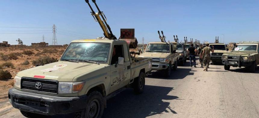 Libyan forces (Photo credit: unknown)