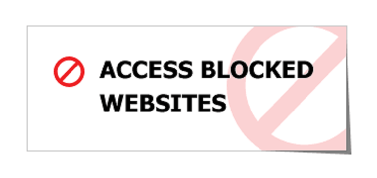 Access Denied symbol (Photo credit: via Google)