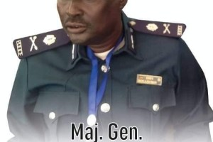 Late police general, Bior Ajoh Bior, was killed on Sunday August 23, 2020 in Juba, South Sudan(Photo credit: supplied)