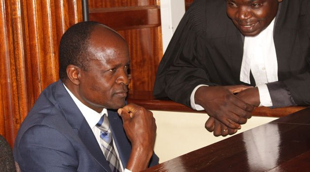 Migori Governor Okoth Obado is facing impeachment over graft charges(Photo credit: supplied)
