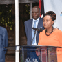 Health Chief Administrative Secretary Dr. Mercy Mwangangi today announcing confirmation of additional COVID-19 cases at Afya House, Nairobi(Photo credit: MOH/Nyamilepedia)