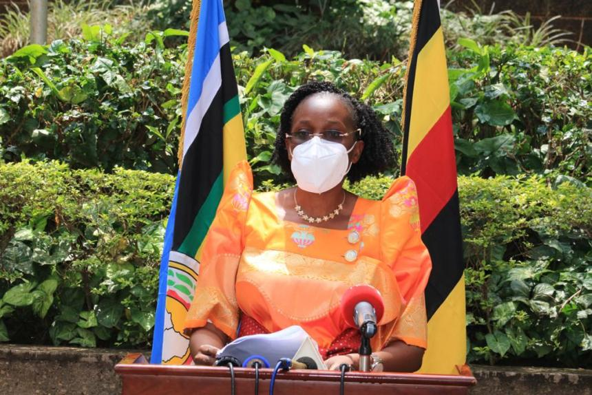 the Minister of Information and Communications Technology (ICT) and National Guidance, Hon Judith Nabakooba (Photo credit: supplied)