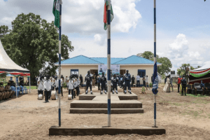 UNMISS opening a new police station in Terekeka, Central Equatoria State, South Sudan, Sep 5, 2020(Photo credit: UNMISS/Nyamilepedia)