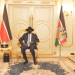 President Salva Kiir and Hon. Nhial Deng meeting the governor of Western Bahr el Ghazal State, Sarah Cleto Rial, Oct 27, 2020(Photo credit: courtesy image/Nyamilepedia)