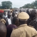 Governor of Central Equatoria State, Hon. Emmanuel Adilt, visiting Terekeka county to assess security situation today, October 10, 2020(Photo credit: courtesy image/Nyamilepedia)