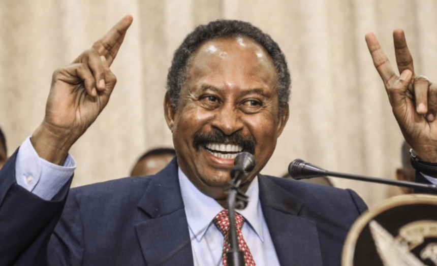 Sudanese Prime Minister Abdalla Hamdok got $400 million approved by World Bank for Economic Receovery(Photo credit: Courtesy Image/Nyamilepedia)