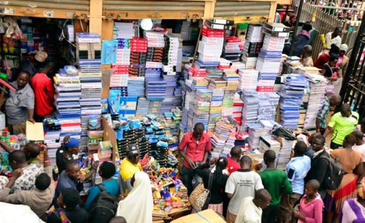 Shops of Ugandan traders in South Sudan's Juba (Photo credit: supplied/Nyamilepedia)