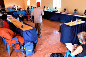 UNMISS facilitating workshop that forms a special committee in Western Equatoria State to prevent child exploitation(Photo credit: courtesy image/UNMISS)