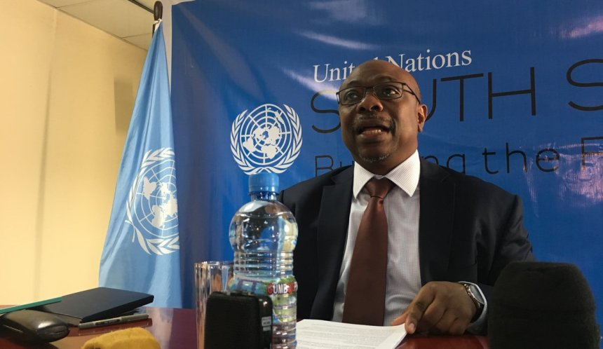 Alain Noudéhou, national of Benin is currently the Deputy Special Representative of the Secretary-General of the United Nations, Resident Coordinator, and Humanitarian Coordinator in South Sudan.(photo credit: courtesy image/Nyamilepedia)