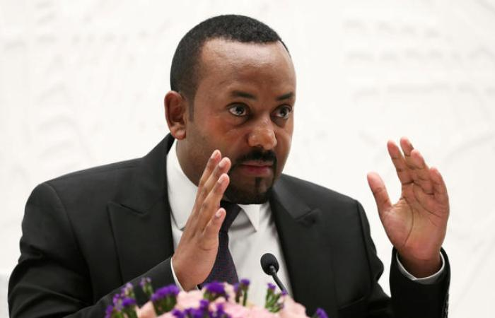 Ethiopia's Prime Minister Abiy Ahmed speaks at a news conference at his office in Addis Ababa, Ethiopia, August 1, 2019.(Photo credit: courtesy image/Reuters)