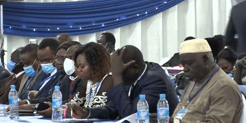 Members of the National Dialogue attending a conference in Juba, South Sudan(Photo credit: courtesy image/Nyamilepedia)