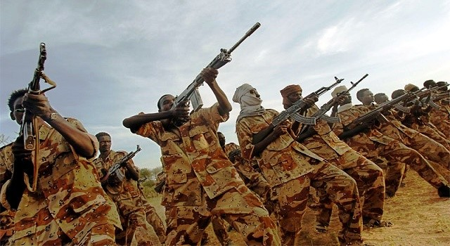 Members of Sudanese army(Photo credit: Courtesy image/Nyamilepedia)