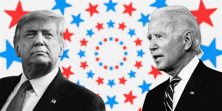 U.S. 2020 presidential election candidates, President-elect Joe Biden and outgoing President Donald Trump(Photo credit: courtesy image/ANBC)
