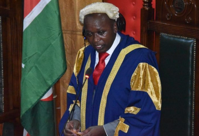 Nairobi County Assembly Speaker Benson Mutura. (Photo credit: courtesy image)