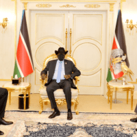 Governor Adil briefs President Kiir on Central Equatoria Border Agreement with Uganda