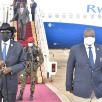 President Kiir concludes his visit to South Africa and returns home